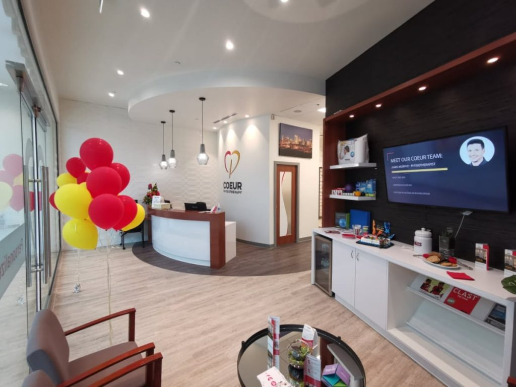 Inside Coeur Physiotherapy Edmonton